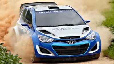 Hyundai i20 Making A Run At World Rally Championship In 2013