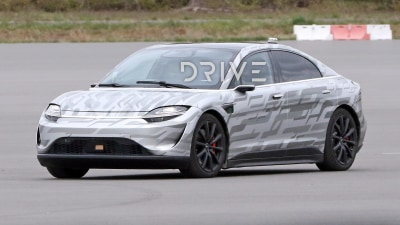 Sony's Vision-S electric car spied testing again
