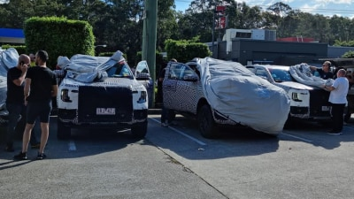 2022 Ford Ranger caught testing on NSW roads