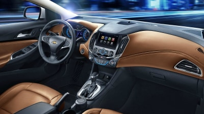 2015 Cruze Interior Revealed For All-New Chinese Model