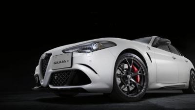 Alfa Romeo Giulia QV Carbonio edition revealed