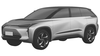 Toyota electric models revealed in patent filing