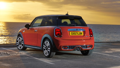 Updated Mini Cooper revealed