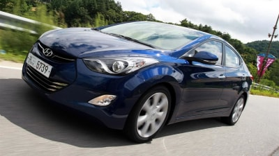 2011 Hyundai 'MD' Elantra Revealed Further In New On-Road Video