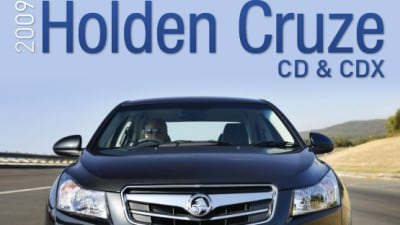 2009 Holden Cruze First Test Drive