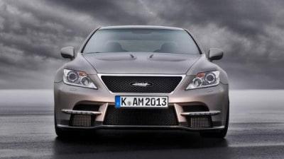 TMG's Lexus TS-650 Concept Revealed Ahead Of Essen Debut