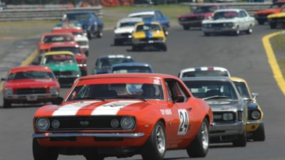 VACC Historic Sandown: 10 rides in Group N Tourer to be won