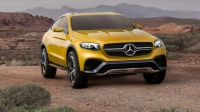 Mercedes-Benz Concept GLC Coupe revealed
