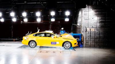 Volvo's crash test centre turns 20