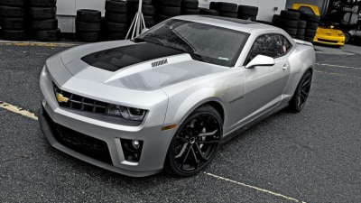 2012 Chevrolet Camaro ZL1 Enters Production