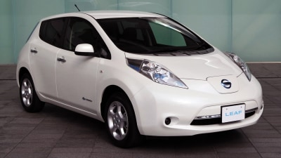 2013 Nissan Leaf Gets New Electric Drivetrain, Australian Timing Unclear