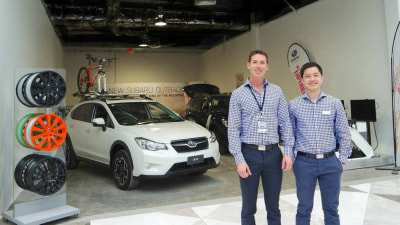 Sales Success Powers Subaru To More Shopping Centre 'Pop-Up' Stores