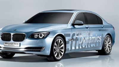 BMW 7 Series ActiveHybrid Concept to Debut at Paris