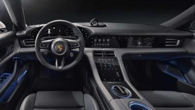 2020 Porsche Taycan interior revealed