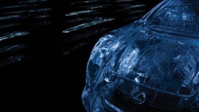 Weekend Eye Candy: Lexus LF-A 'Crystallised Wind'