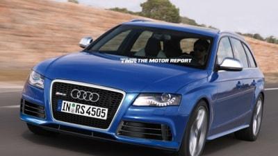 2011 Audi RS4 Avant Rendered, Dropping V8 For Supercharged V6