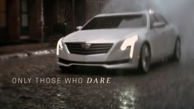 Cadillac CT6 Flagship Revealed In Daring New Oscars Ad Campaign: Video
