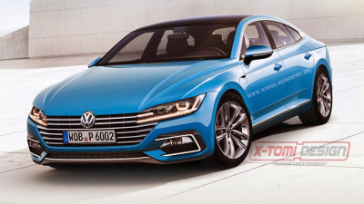 New Volkswagen CC Rendered