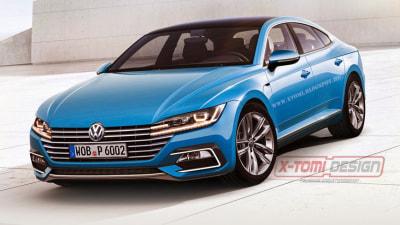 New Volkswagen CC Rendered