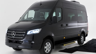 2020 Mercedes-Benz Sprinter Transfer Minibus price and specs