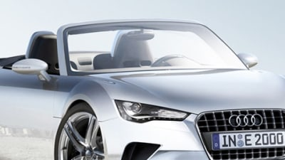 Audi R4 Mid-Engined Roadster Concept Artwork