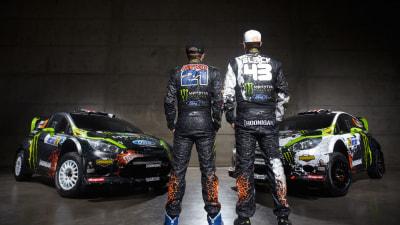 WRC: Ken Block, Chris Atkinson Reveal Monster Fiesta Livery