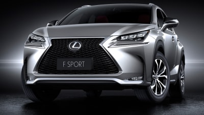 Lexus NX In Australia By Late 2014: Official