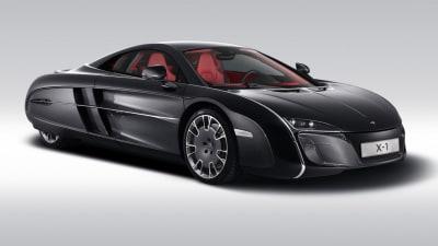 X-1 One-off: McLaren Builds A Batmobile
