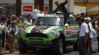 MINI Takes First And Second In Dakar Rally