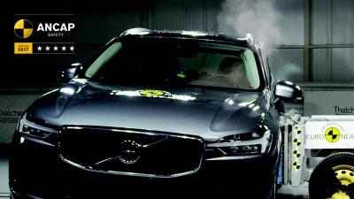 2018 Volvo XC60 Scores 5-Star ANCAP Rating