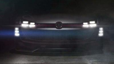 Volkswagen GTI Supersport Teased For Vision Gran Turismo Game
