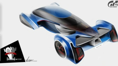 Alpine Teases Entry For Gran Turismo Vision