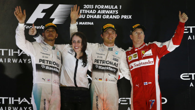Rosberg Makes It A Hat-Trick In Abu Dhabi Season Closer