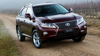2012 Lexus RX On Sale In Australia, RX 270 Introduced