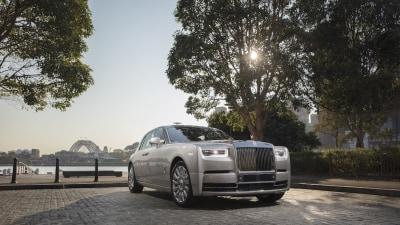 Million Dollar Rolls-Royce Phantom Lands In Australia