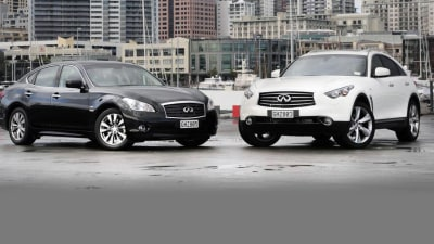 Infiniti FX And M Pricing Announced For Australia, On Sale From August