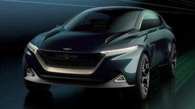 Aston Martin shows Lagonda All-Terrain Concept