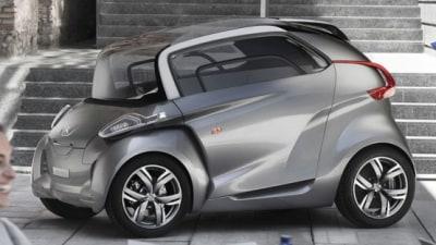 Peugeot BB1 City Car Concept Revealed At Frankfurt