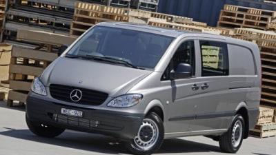 2009 Mercedes-Benz Vito Scores 5-Star ANCAP Rating