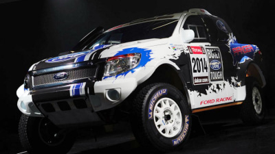 Ford To Enter V8 Ranger Utes In 2014 Dakar Rally