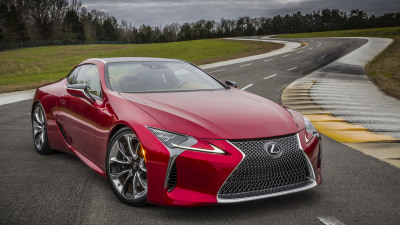 Design And Development Details Of Lexus LC Emerge Ahead Of 2017 Launch