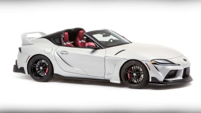 Toyota GR Supra Sport Top concept revealed