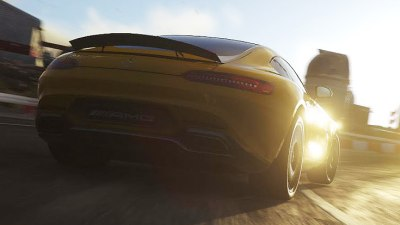 Mercedes-AMG GT Rump Revealed In DriveClub Game Teaser