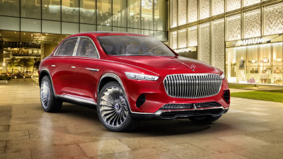 Mercedes-Maybach Vision Ultimate Luxury concept revealed