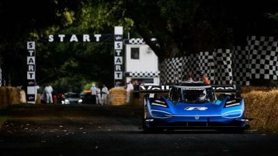 Volkswagen ID. R sets Goodwood Hillclimb record