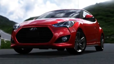 Digital Debut: Hyundai Veloster Turbo In Forza Motorsport 4