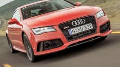 Audi RS7 first drive review