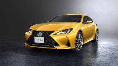 Lexus updates RC coupe