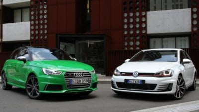 Head to head: Audi S1 and Volkswagen Golf GTI Performance