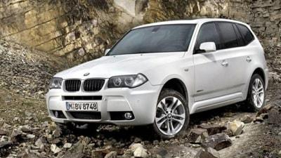 2009 BMW X3 xDrive 18d Sport Activity Vehicle Revealed
